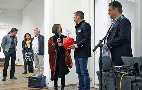 Sparkasse unterstützt die Ausstellungsreihe 2018 des Neuen Kunstvereins Aschaffenburg e.V.