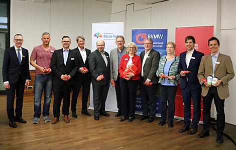 2. BusinessSlam des BVMW und der Sparkasse Aschaffenburg-Alzenau