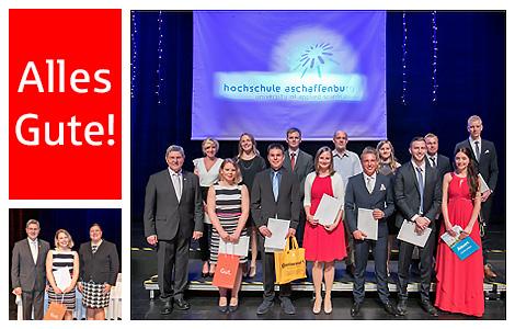 Akademische Feier der Hochschule Aschaffenburg am 28.04.2018