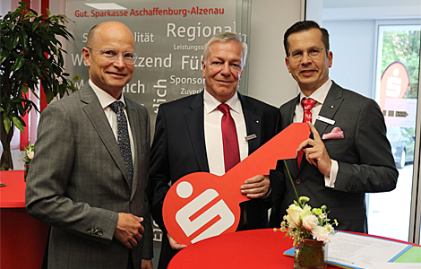 Sparkasse eröffnet die neue Filiale Bessenbach