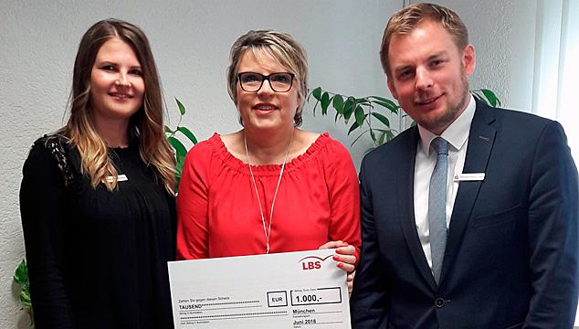 Gewonnen! Herzlichen Glückwunsch zu 1.000 Euro aus dem LBS-Gewinnspiel