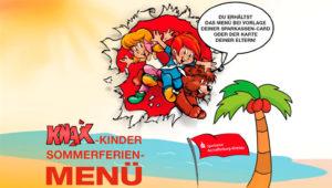 KNAX-Kinder-Sommerferien-Menü im Kinopolis Aschaffenburg