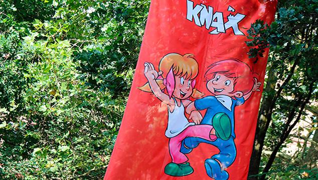 Spiel und Spaß in der bunten KNAX- Welt auf dem Aschaffenburger Stadtfest