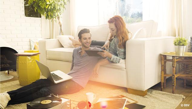 Sichern Sie Ihre elektronischen Geräte ab – Mit dem Geräte-Schutz der Sparkasse