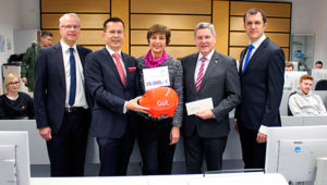 Sparkasse unterstützt die Hochschule Aschaffenburg