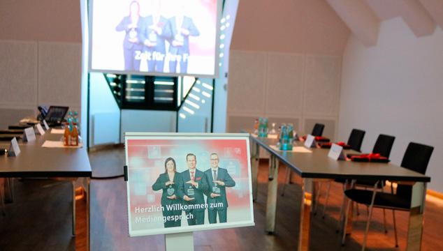 Bilanzpressekonferenz der Sparkasse Aschaffenburg-Alzenau