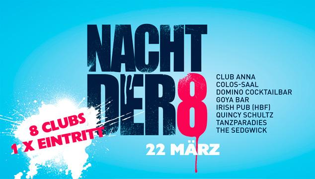 Nacht der 8 – Aschaffenburg tanzt!