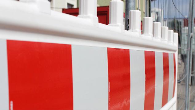 Kundenparkplatz der Sparkassen-Hauptstelle im Zeitraum 01.07. bis voraussichtlich 30.09.2019 gesperrt
