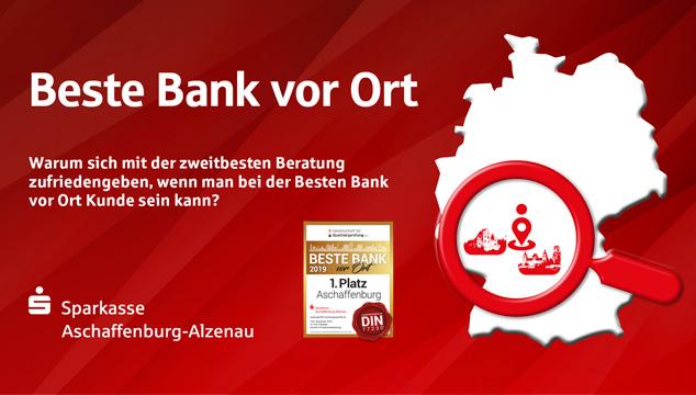Beste Bank vor Ort 2019 – Privatkundenberatung