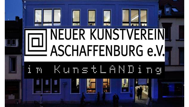 Sparkasse unterstützt die Ausstellungsreihe 2020 des Neuen Kunstvereins Aschaffenburg e.V.