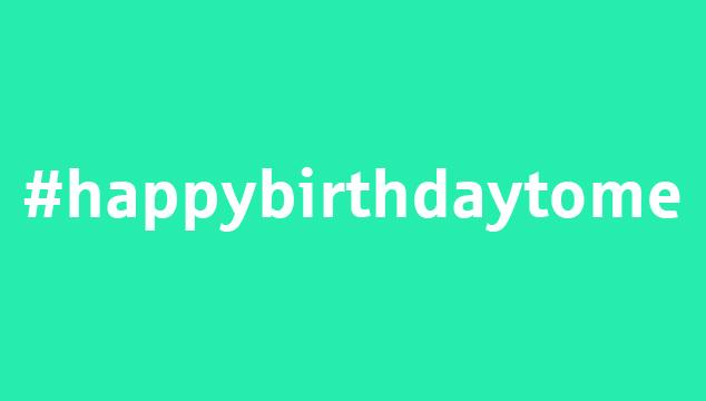 #happybirthdaytome