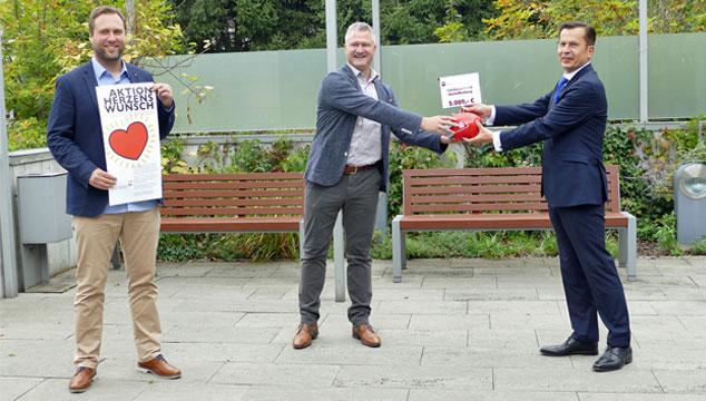 Sparkasse unterstützt den Caritasverband Aschaffenburg Stadt und Landkreis e.V.