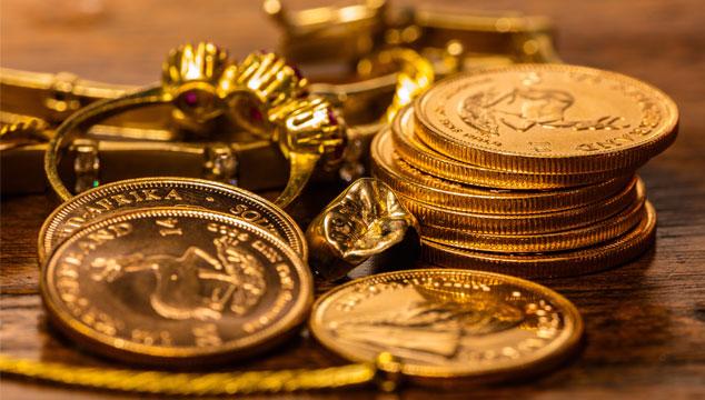 Im goldenen Herbst – Gold zu Geld machen.