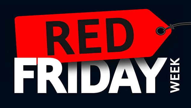 Red Friday Week vom 23.11.2020 bis 27.11.2020