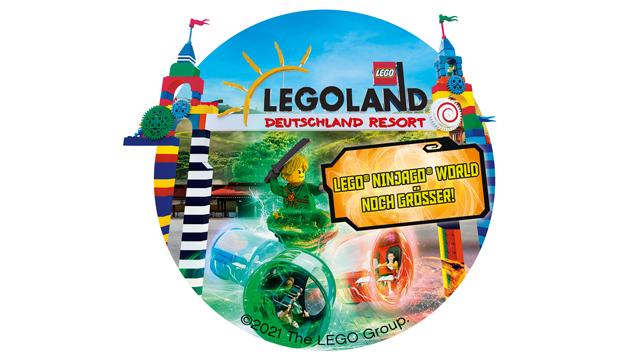 LEGOLAND Deutschland 2021 – exklusive Rabattaktion für Sparkassen-Kunden
